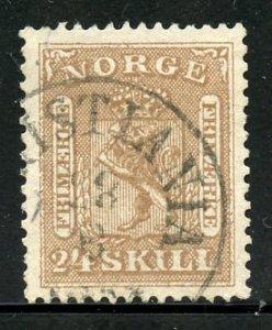 Norway # 10.Used. CV $ 65.00