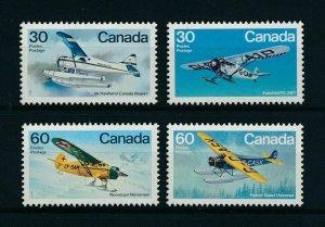 Canada 1982 Aviation Aircrafts  MNH