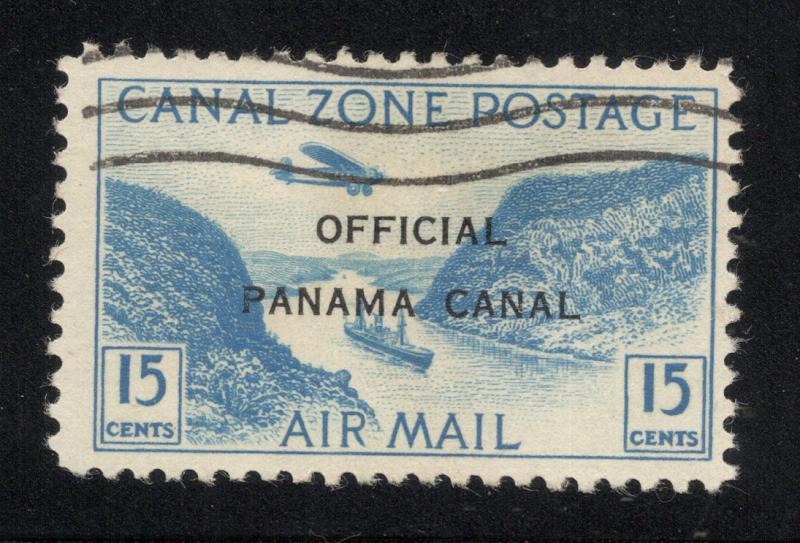 CZ#CO3 Air Post Official - Used - (Without Overprint, Postally Used)