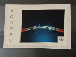 Canada Post Picture Postage Mint NH *Electric shock * *P* denomination