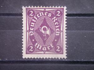 GERMANY, Empire, 1922-23, used 2m, Post Horn Scott 185