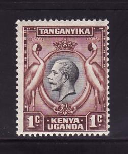Kenya, Uganda, Tanzania 46 MHR King George V, Birds (E)