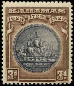 Bahamas SC# 86 SG# 127 Colony Seal 3d MNH