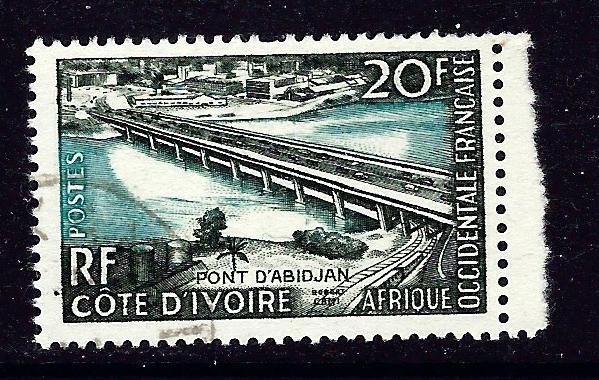 French West Africa 77 Used 1958 isue