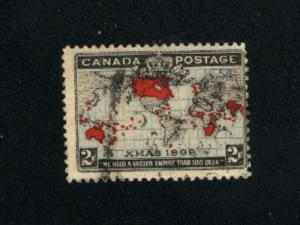 Canada #85  used     PD