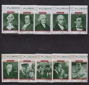 FUJEIRA SET OF STAMPS MNH  LOT#475