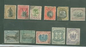 North Borneo 59-69 Used F-VF See desc.