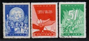 PR China SC#413-415 C61 1959 Complete Set, USED