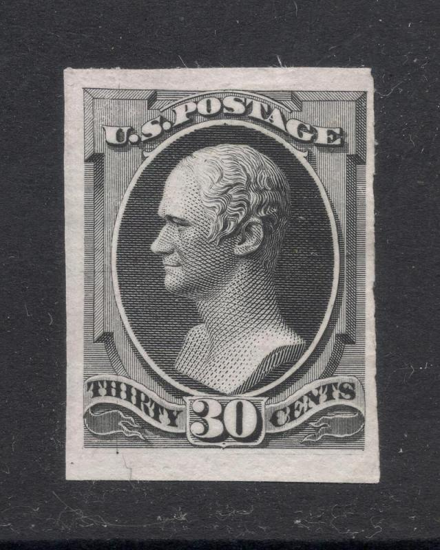 154P3 Black - Engraved Plate Proof on India Paper
