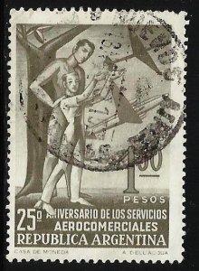 (1932389) Argentina 1955 Scott# 645 Used