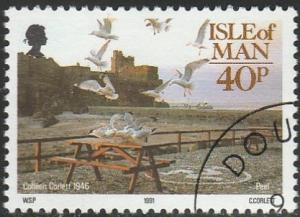 Isle Of Man, #444 Used From 1991