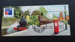 Isle of Man 1998 The 125th Anniversary of Railroads on Isle of Man