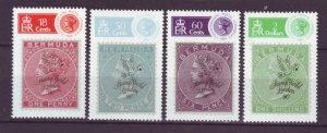 J22006 Jlstamps 1990 bermuda set mh #594-7 stamps