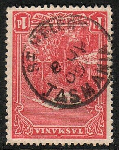 TASMANIA 1909 1d ST HELIER'S cds...........................................17416