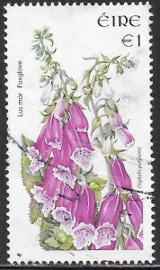 Ireland 1654 Used - Flowers - ‭Foxglove