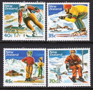 New Zealand 799-802 Skiing MNH VF