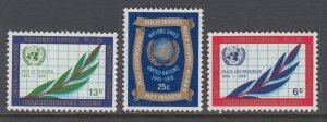 UN New York 209-211 MNH VF