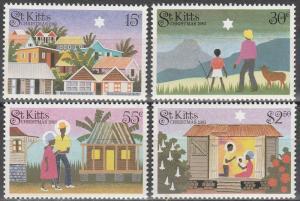 St Kitts #127-30  MNH