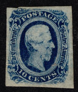US #CONFEDERATE US #12 VF/XF mint, four nice margins,  great color,  natural ...