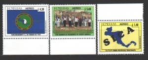 Honduras. 1996. 1302-4. Central American integration. MNH.