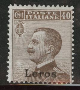 Italy - Aegean Islands - Lero MH* Scott 7