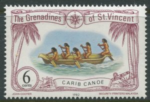 STAMP STATION PERTH Grenadines #225 Ships Pictorial Definitive MNH 1982