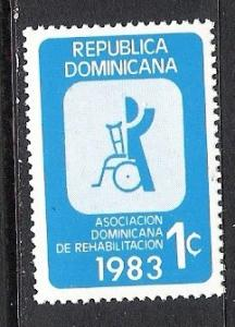 DOMINICAN REPUBLIC RA95 MNH S251