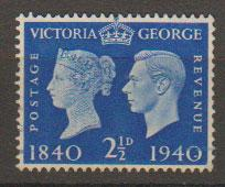 GB George VI  SG 483 Used