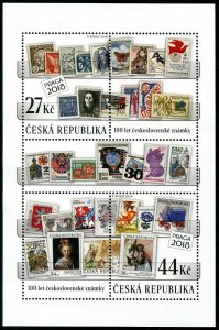 HERRICKSTAMP NEW ISSUES CZECH REPUBLIC Sc.# 3760 Stamps S/D (S.O.S.)