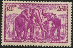 Cameroun, Scott #250, Unused, Hinged