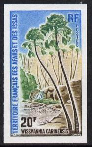 French Afars & Issas 1975 Palm Tree 20f imperf from l...