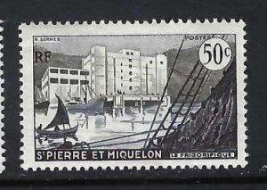 SAINT PIERRE ET MIQUELON 347 MOG THIN H265-5
