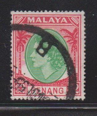 PENANG Scott # 43 Used