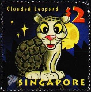 Singapore. 2003 $2 S.G.1271 Fine Used