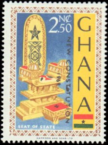 Ghana #356-370, Complete Set(15), 1969, Never Hinged