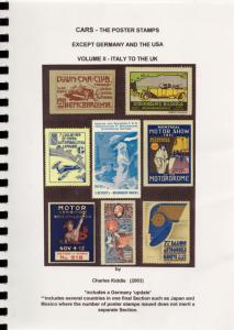 (I.B-CK) Cinderella Catalogue : Poster Stamps : Cars (Volume II)
