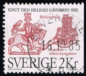 Sweden #1539 City of Helsingdorg; Used (0.25)