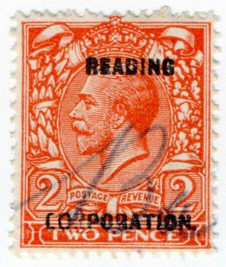 (I.B) George V Commercial Overprint : Reading Corporation