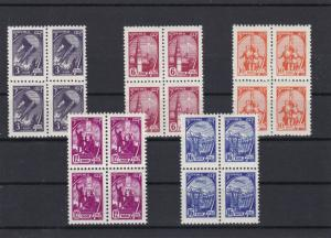 Russia Mint Never Hinged 1961 Stamps Blocks cat 60. Ref 27970