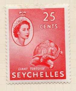 Seychelles 1954 Early Issue Fine Mint Hinged 25c. NW-99402