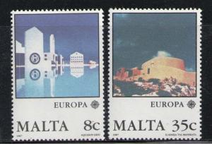 MALTA 1987 MNH SC.694/695 CEPT