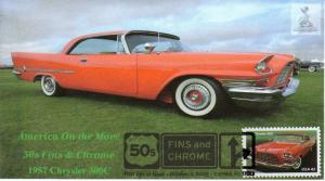 50s Fins & Chrome First Day Cover #2, from Toad Hall Covers!