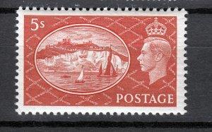 J26922 1951 great britain mlh #287 king sports wmk 259