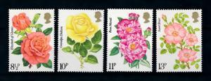 [78845] Great Britain 1976 Flora Rose Flowers  MNH