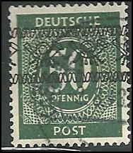 Germany - 591 - Used - SCV-8.25