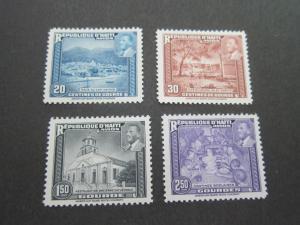 Haiti 1953 Sc C57-60,set MNH