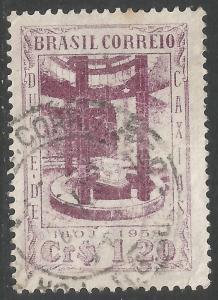 BRAZIL 751 VFU Z592-4