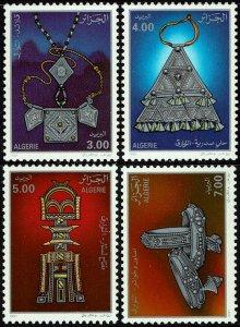 Algeria #949-52  MNH - Jewelry (1991)