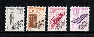 France  2368 - 2371 MNH $ 6.40