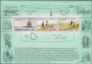 Norfolk Island 1981 SG261 Migration MS MNH